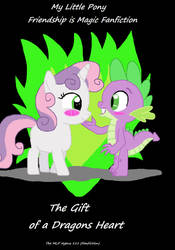 MLP Fanfiction Cover - The Gift of a Dragons Heart by ThomasZoey3000