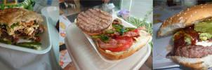 New York, Rib Eye and Sirloin burgers by YoLoL