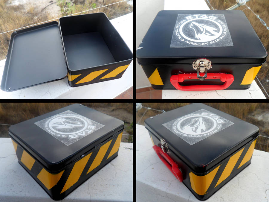 Prop Metal Box by YoLoL