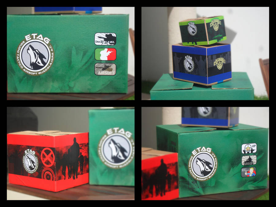 Convoy Boxes by YoLoL