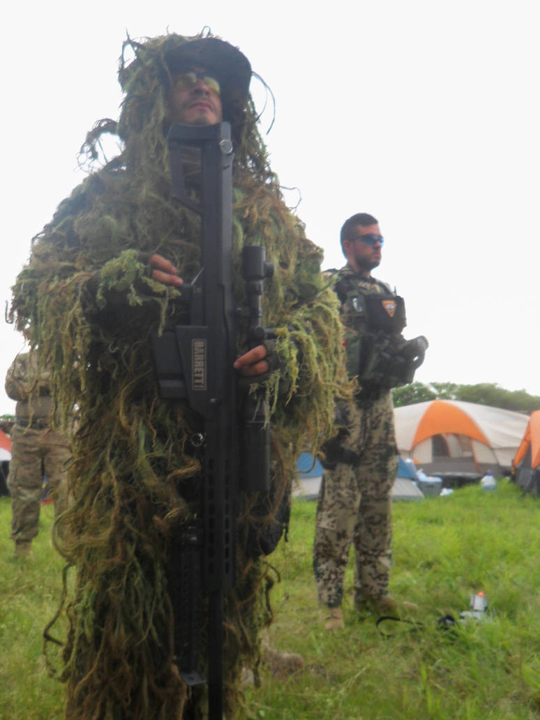 Ghillie Suit by YoLoL