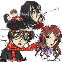 Snape's last words by cutekakashi