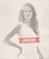 Jennifer Lawrence . Rolling Stone by Linds37