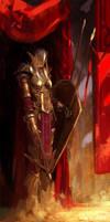 Warrior Guard by FinalKnight6