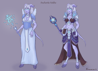 Ankhe's Outfit Reference Sheet by Ninami