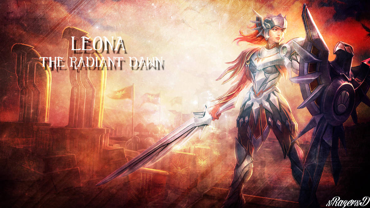 Lol Iron Solari Leona Wallpaper By Xrazerxd On Deviantart