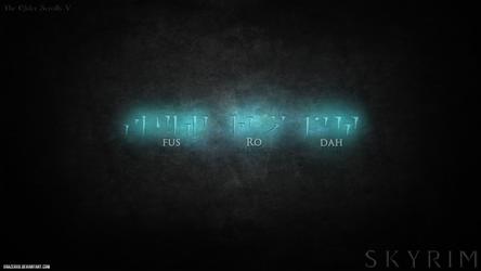The Elder Scrolls V Skyrim - Fus Ro Dah! by xRazerxD