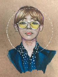 Kim Taehyung  by Aundreamay
