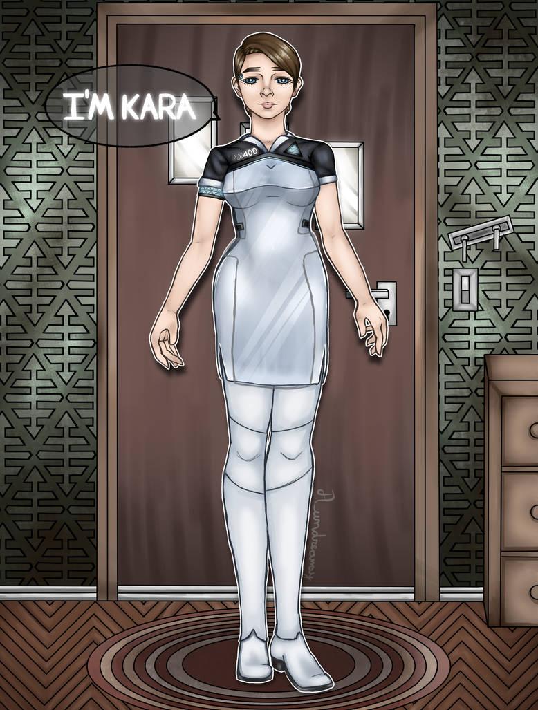 Kara Detroit become Human by Aundreamay