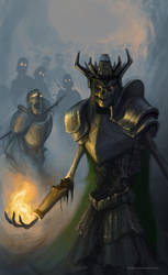Lich Sorcerer by aod215