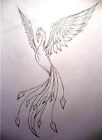 Phoenix - tattoo by frecmenta