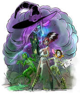 Halloweening by Fededraws
