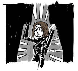 Jyn Erso by Fededraws