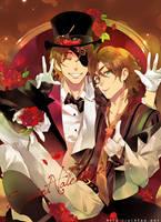 Valentine roses by einlee