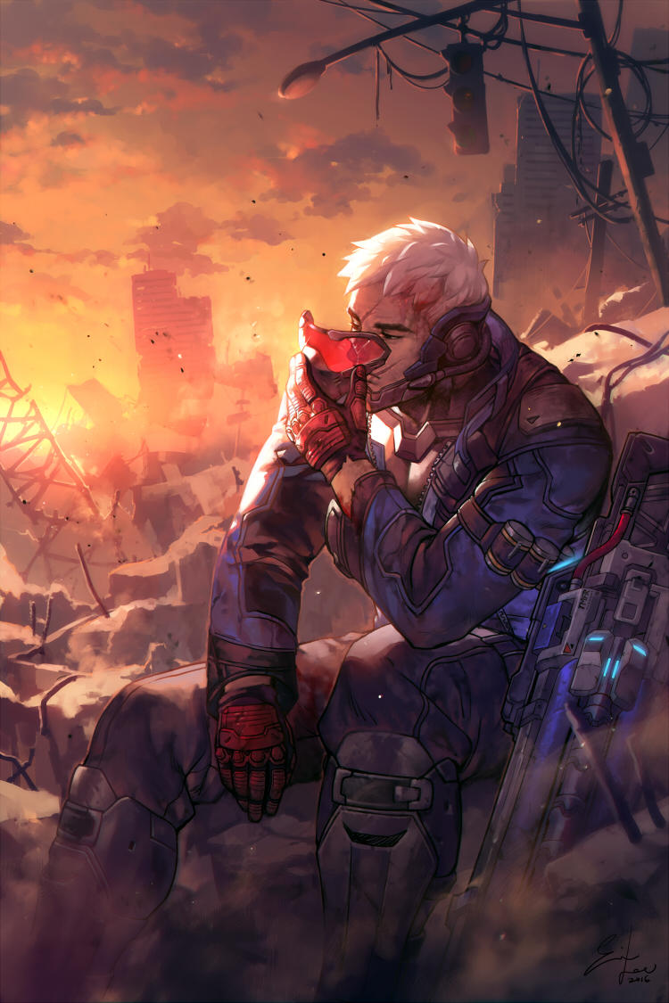 Soldier: 76 by einlee