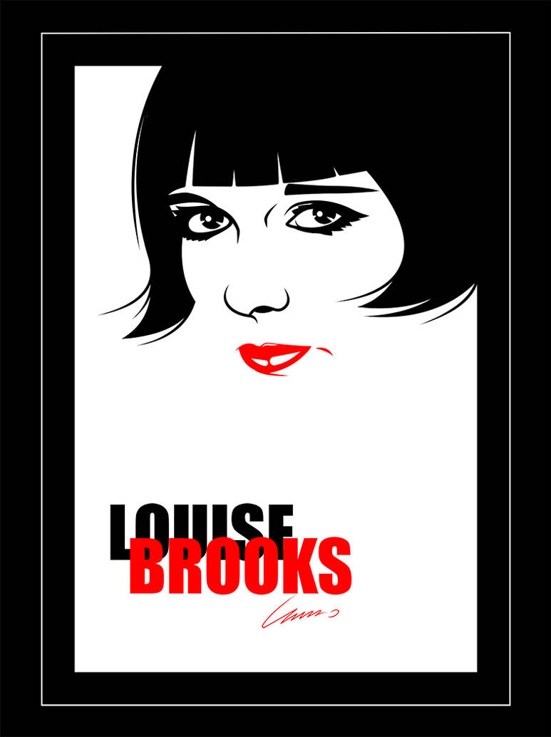 Louise Brooks by irmino-Pin-Oops