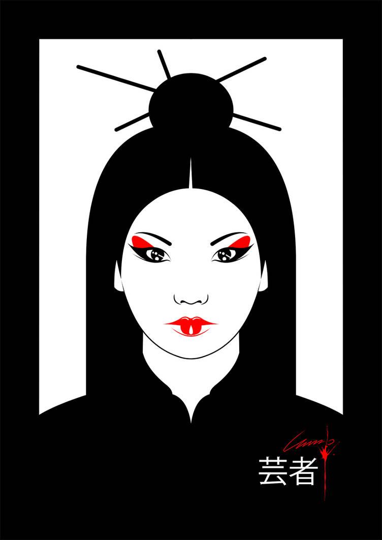Geisha by irmino-Pin-Oops
