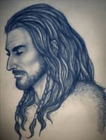 Thorin Oakenshield - sketch by TheHellcow