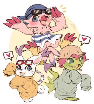 Digimon Tri! by suikuzu
