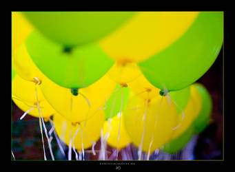 Colourful Balloons by -nightm4r3-