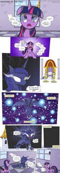 MLP:FiM - Shadows of the Past #33 by PerfectBlue97