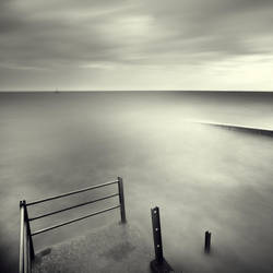 Stair End And Pier by DenisOlivier