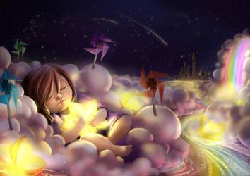 Sailing Through Starlight by pikadiana