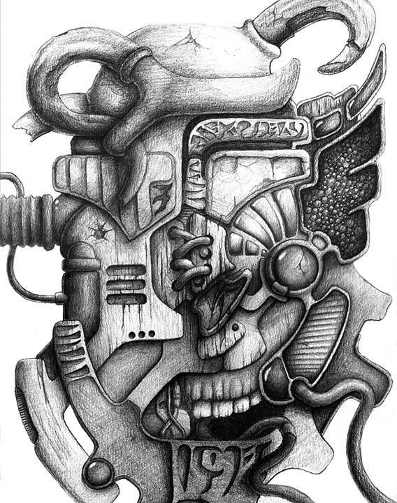 Mayan Future Gray 1 by ivanjs