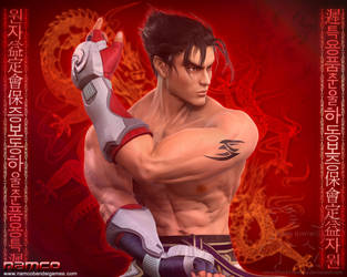 Jin Kazama 3 by Blood-Huntress
