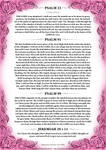 Psalm 23, 91, 99 + Jeremiah 29 v 11 Pink Version by Blood-Huntress