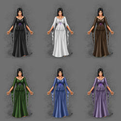 DM RP Profile Summer Dress by Blood-Huntress