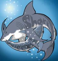 Shark Week by Leonca