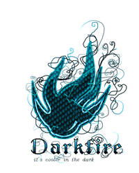 Darkfire a shirt design by JustGage