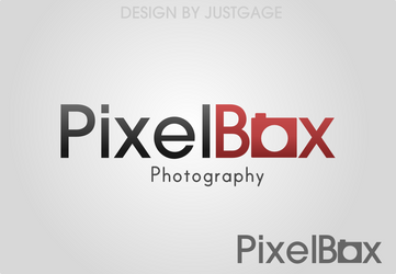 Pixel Box logo v1 by JustGage
