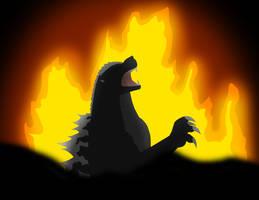 Godzilla sealed Away by Pyrus-Leonidas