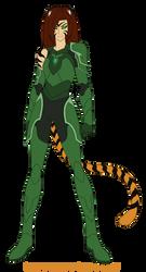 Voltron Legendary Defender OC Kyra by Pyrus-Leonidas