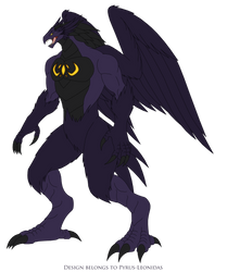 Aitheros Harpy Form by Pyrus-Leonidas
