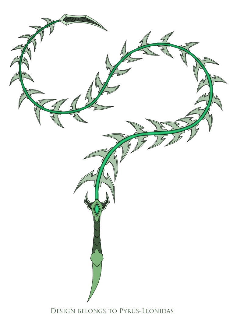 Kyra's Whip Design by Pyrus-Leonidas