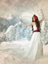 Snow Dance by melanneart