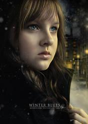 Winter Blues by melanneart