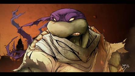 Apocalyptic Donatello by Anothen