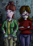 10 Years Later: Jane and Jennifer by JFMstudios