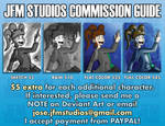 JFM Studios Commission Guide by JFMstudios