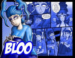 Bloo Collage by JFMstudios