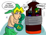Uncle Link: Punching Bag by JFMstudios
