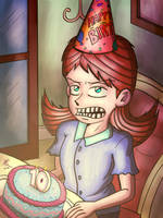 Jane's 10th Birthday by JFMstudios