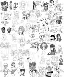 Sketch Dump 13 by JFMstudios