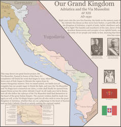The Kingdom of Adriatica in 1930 | EotR by theroofcannon