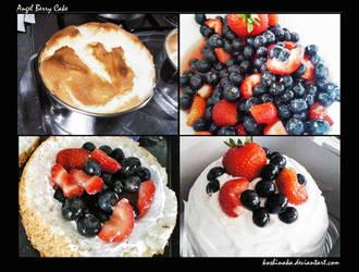 Angel Berry Cake by niladnama