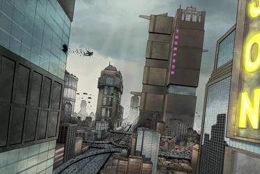 Mega City One by JZINGERMAN